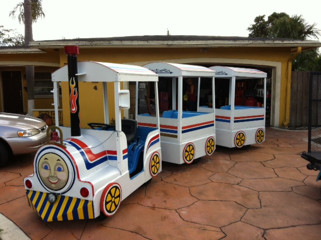 Party Rental Train Rent