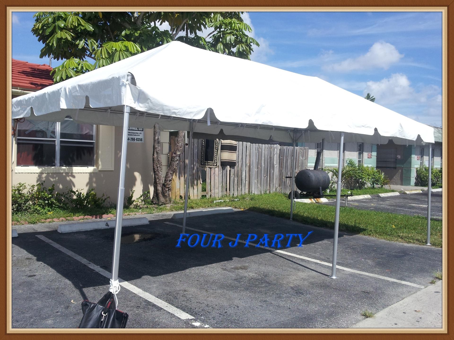Rental Tent 10 x 20 Miramar
