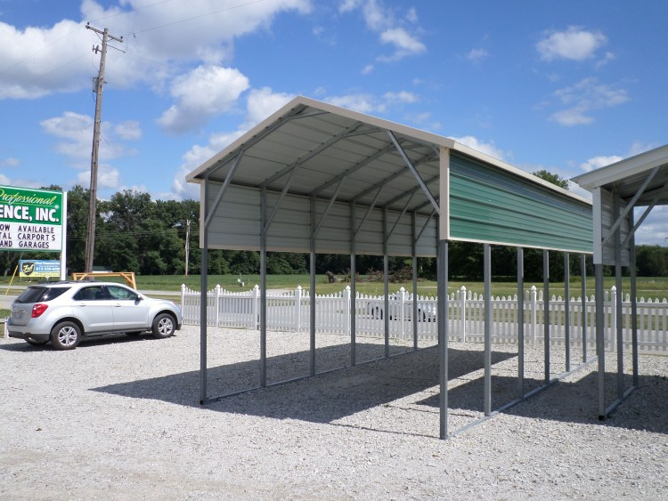 Steel carport garage door 10