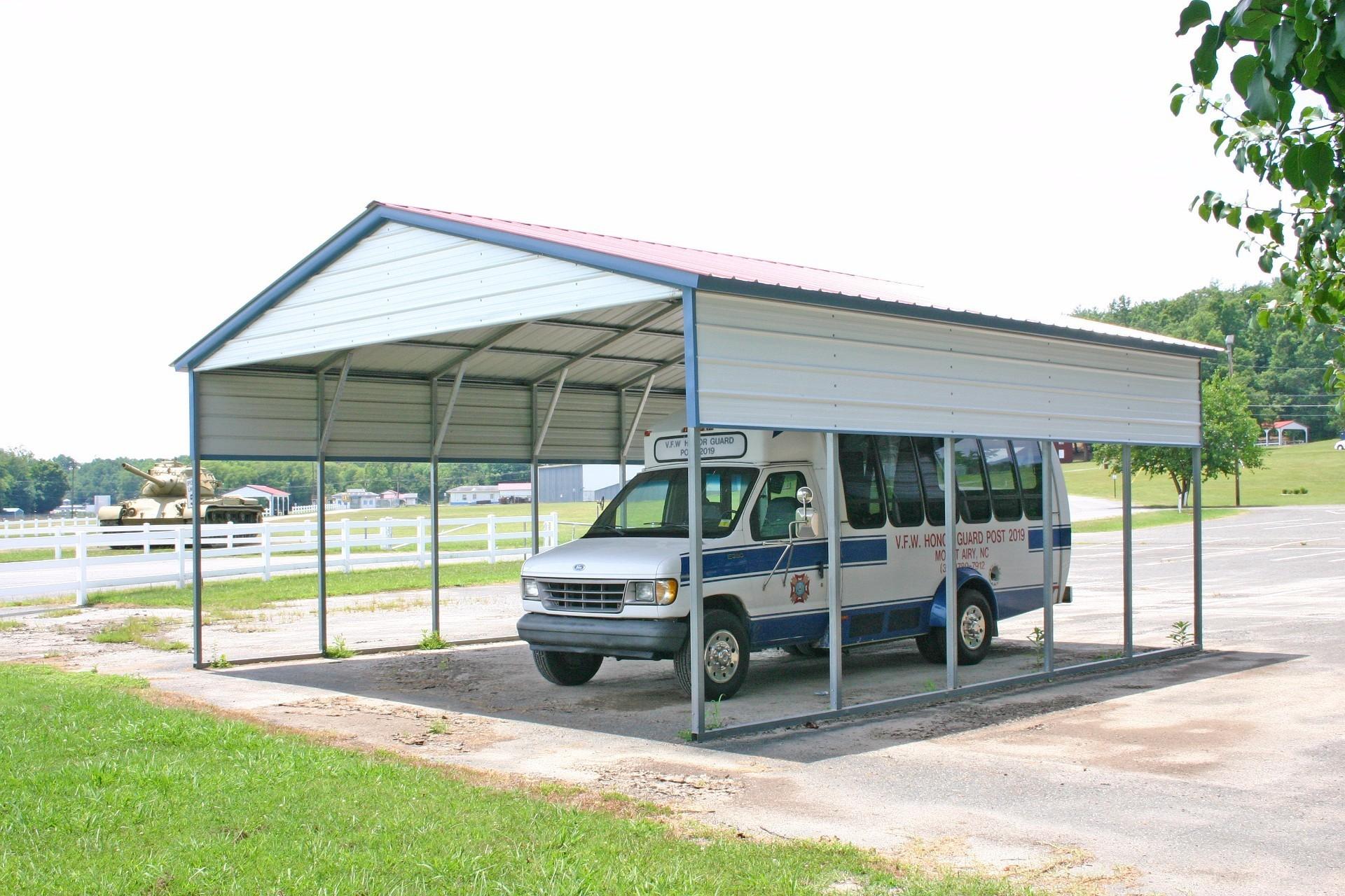 RV Carports Tennessee | Metal Motor Home Covers TN