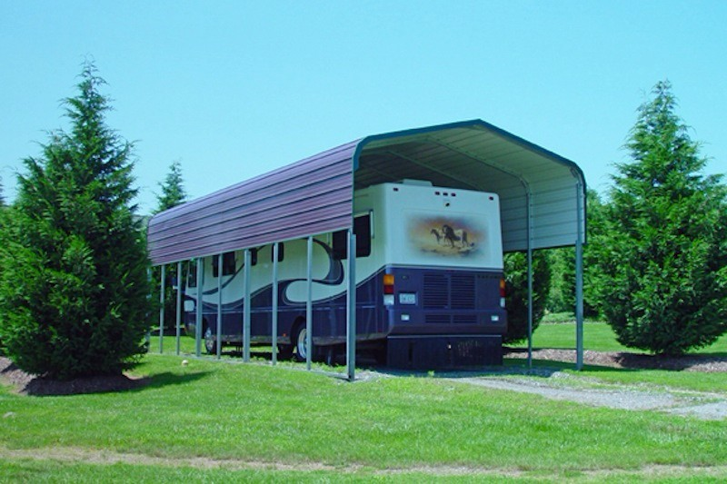 Metal Carports Mississippi : Rv carports mississippi metal motor home covers ms