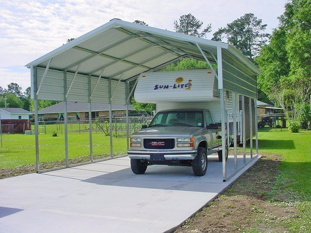 Rv Carports Texas Metal Motor Home Covers Tx