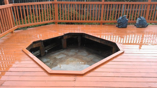 fairfield spa removers, pick up spa vallejom hot tub removal, deck removal