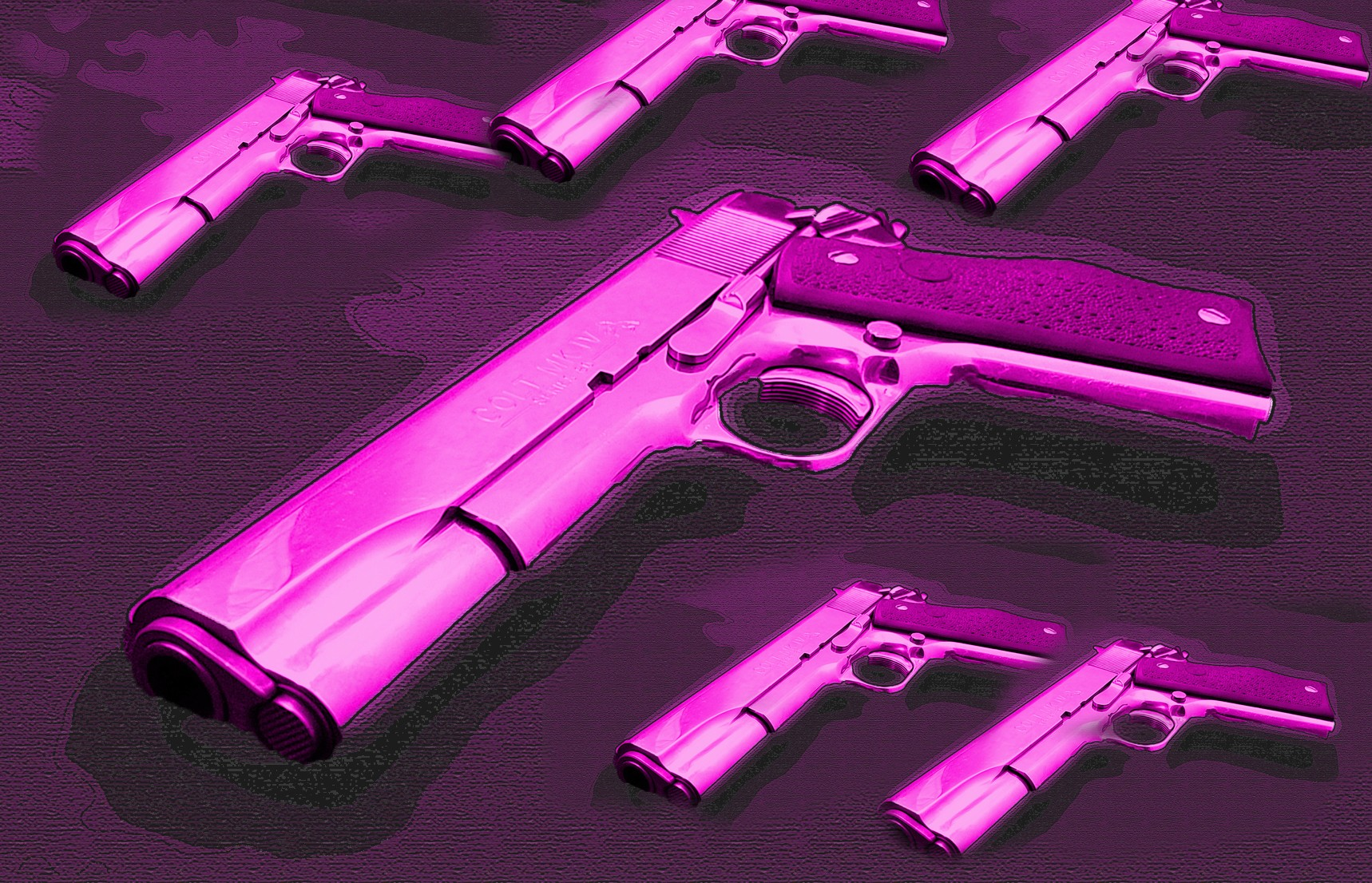 pink colt many