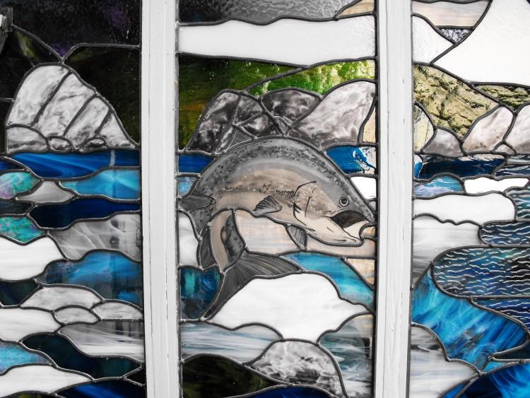 Design for Icelandic Salmon Fisherman
