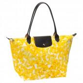 Longchamp Darshan Medium Tote bag Yellow.