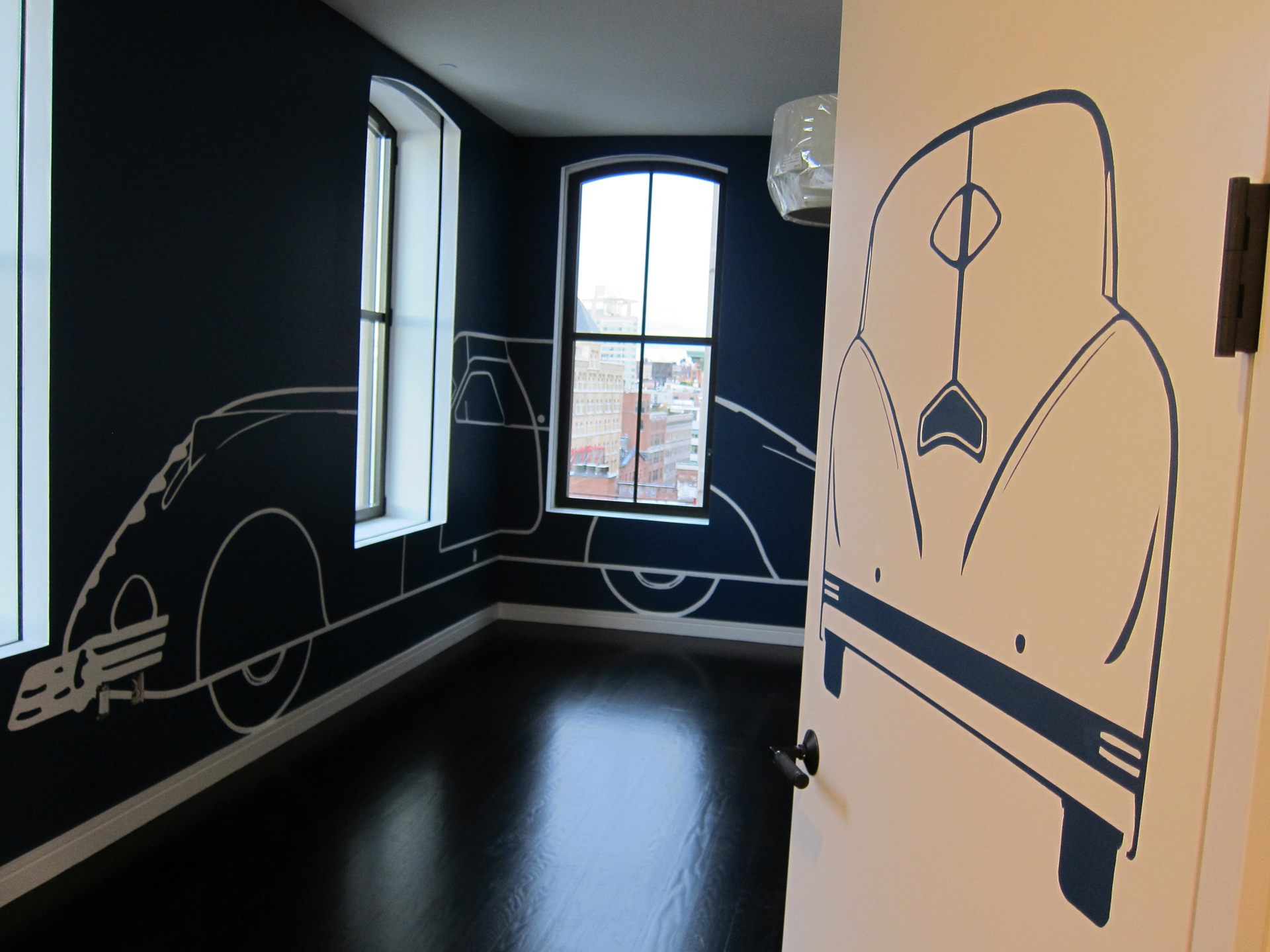 Childrens room mural painting new york gl decorative finishes malvernweather Gallery