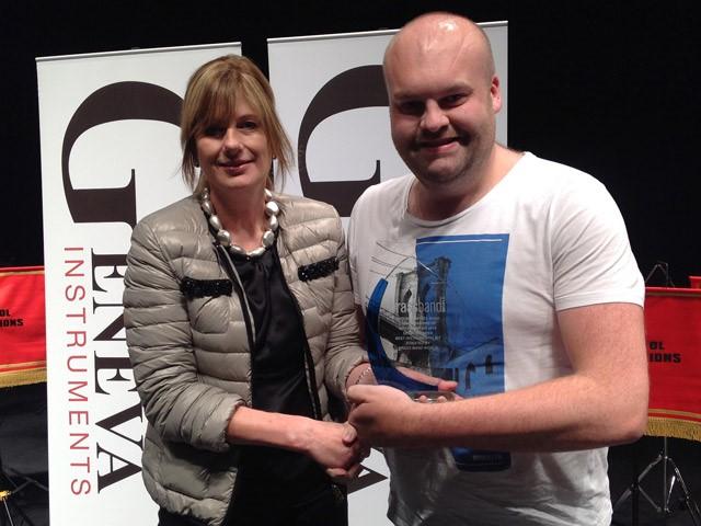 James - Best Instumentalist Cheltenham 2015