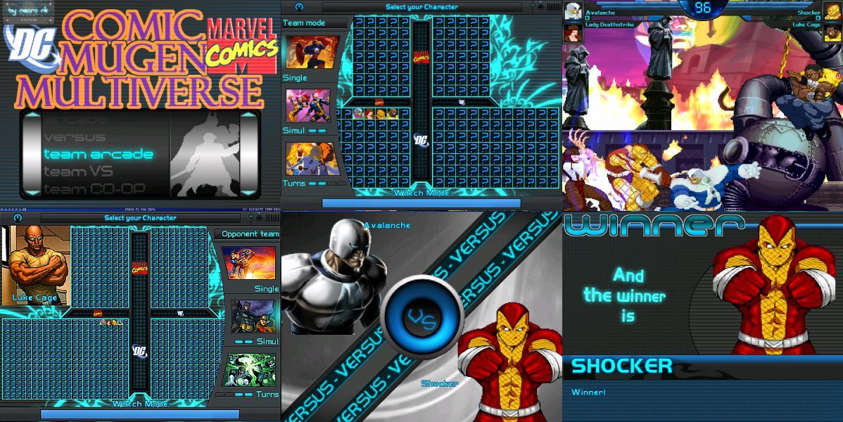 Descargar Marvel Vs Capcom 2 Mugen Edition Si