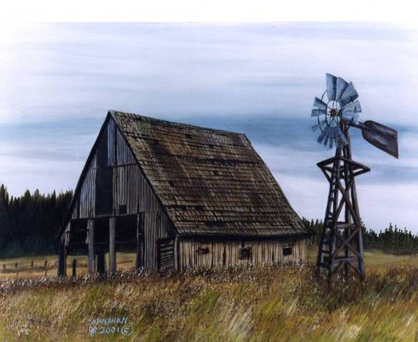 billpaints.com - Paintings of Old Barns and Buildings