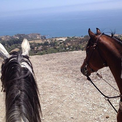 the view from our ride