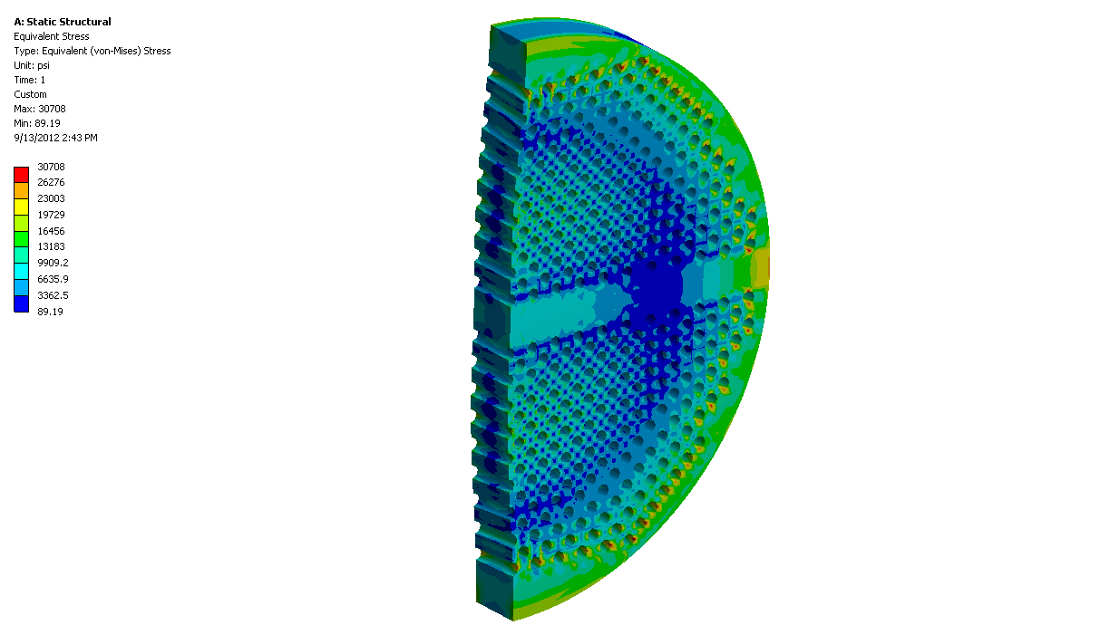 stress analysis of tube flat Pv elite is software for engineering design and analysis of pressure vessels and heat exchangers also taking into account wind and seismic conditions.