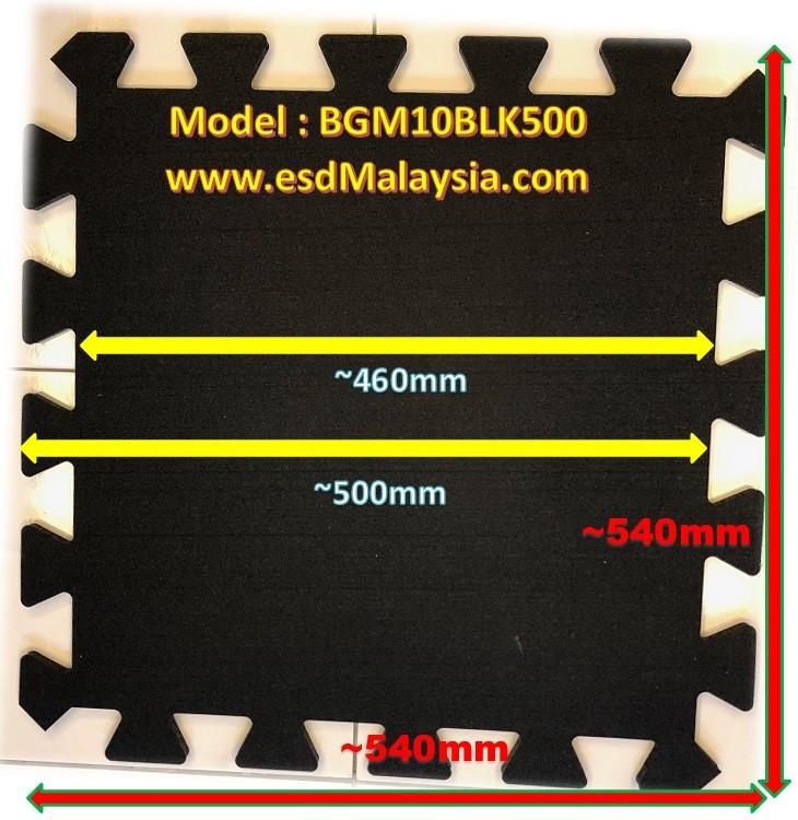 Black Interlocking Gym Mat Malaysia