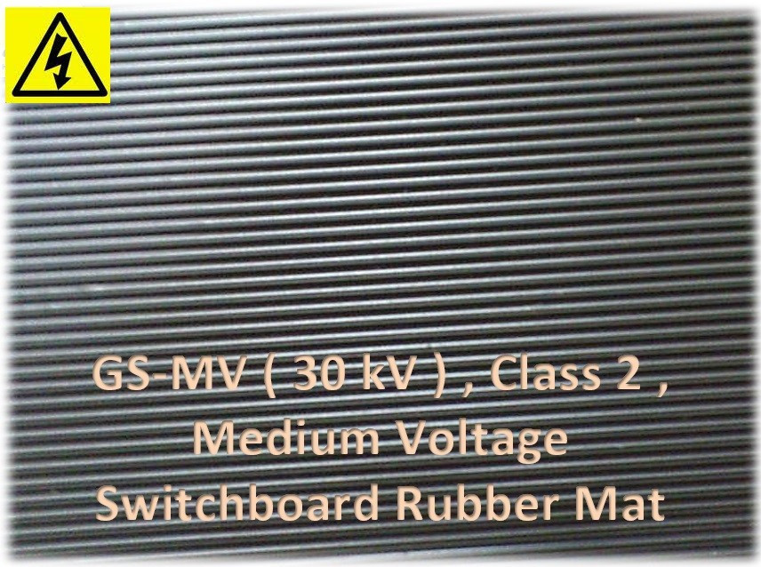 Medium Voltage GS-MV Insulation Rubber Mat Malaysia