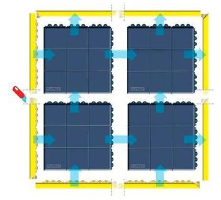 Interlocking ESD Floor Mat Malaysia
