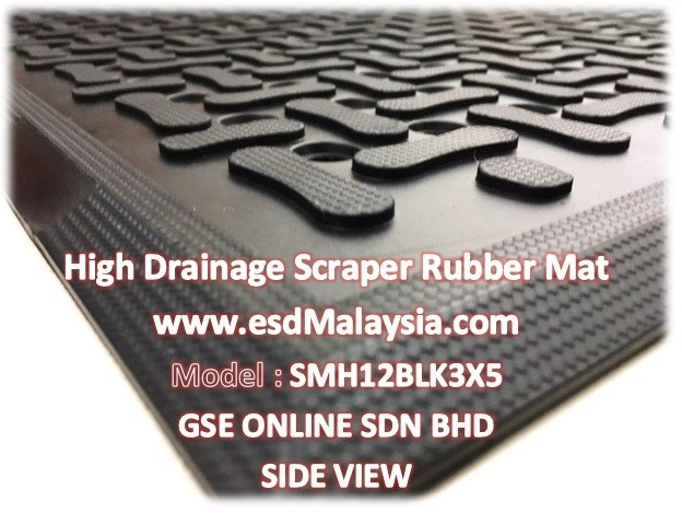High Drainage Rubber Mat Malaysia