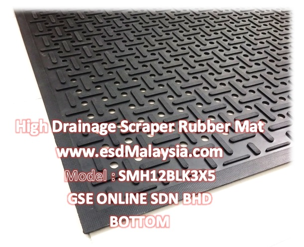 scraper drainage rubber mat Malaysia