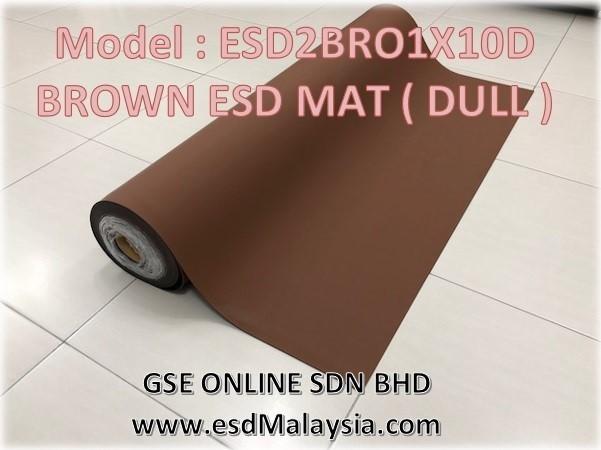 Brown ESD Mat Malaysia