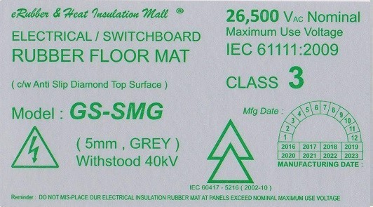 40kv Label