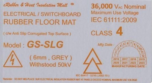 50kv label
