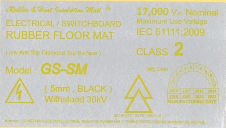 30kV Label