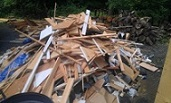 Renovation debris removal Monroe NY