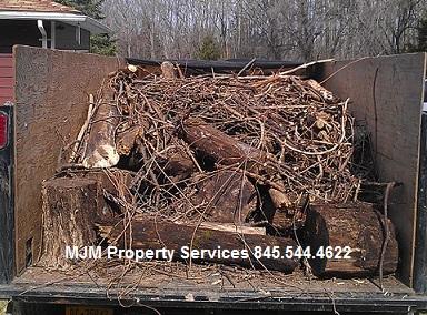 yard debris removal orange county ny