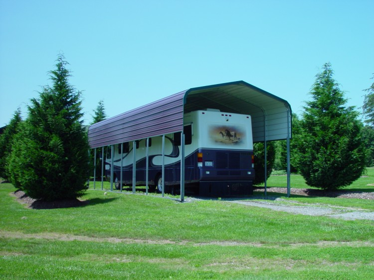 Metal Rv Carports Oregon Or Motor Home Covers Oregon Or