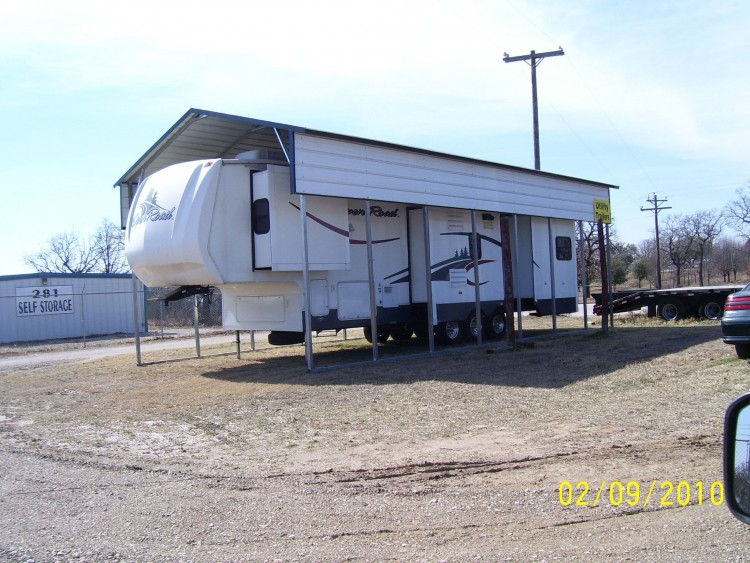 Rv Cover Carport Motorhome : Metal rv carports oregon or motor home covers