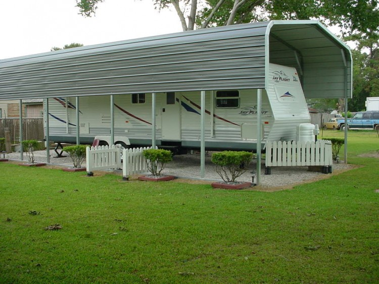 metal rv carports idaho id motor home covers idaho id. Black Bedroom Furniture Sets. Home Design Ideas
