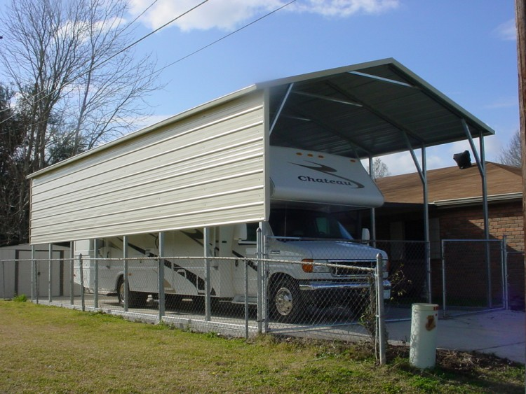 Metal Covers For Motorhomes : Metal rv carports idaho id motor home covers