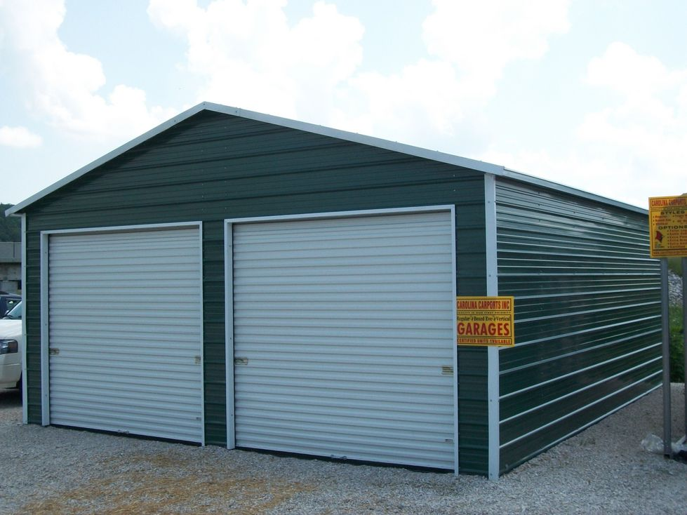 Boxed Eave Style Garages