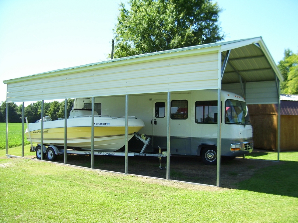Metal Roof RV Cover