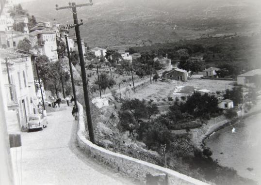 main road in 1950's
