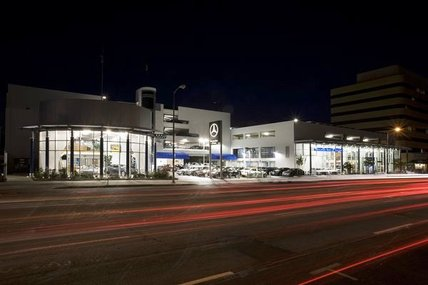 Masoud dejban inc commercial projects for Mercedes benz of encino