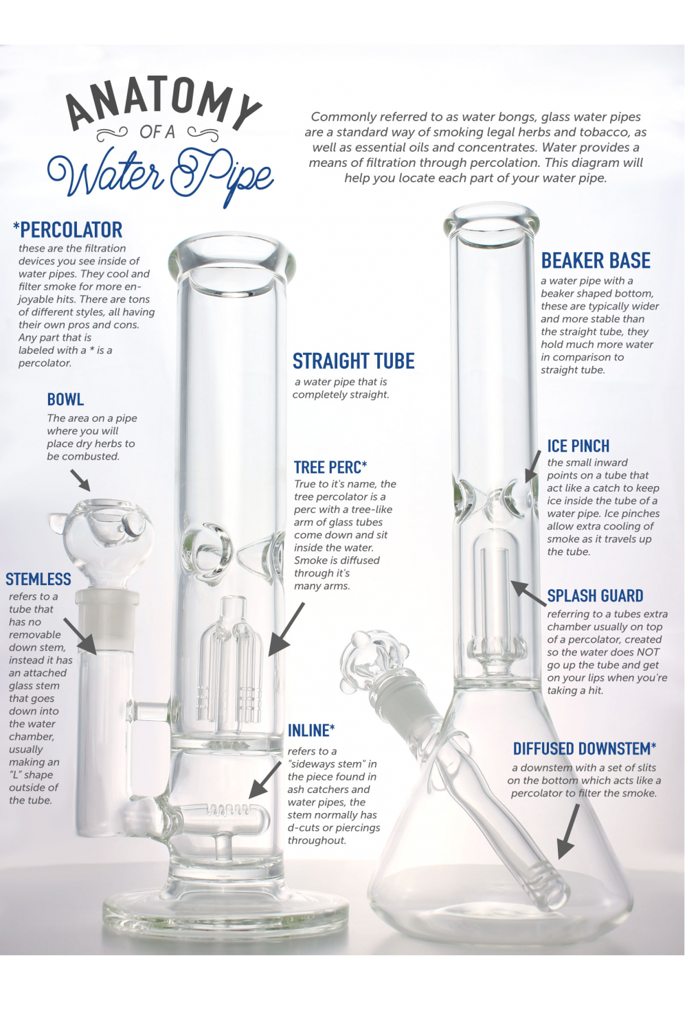 Anatomy of aWater Pipe