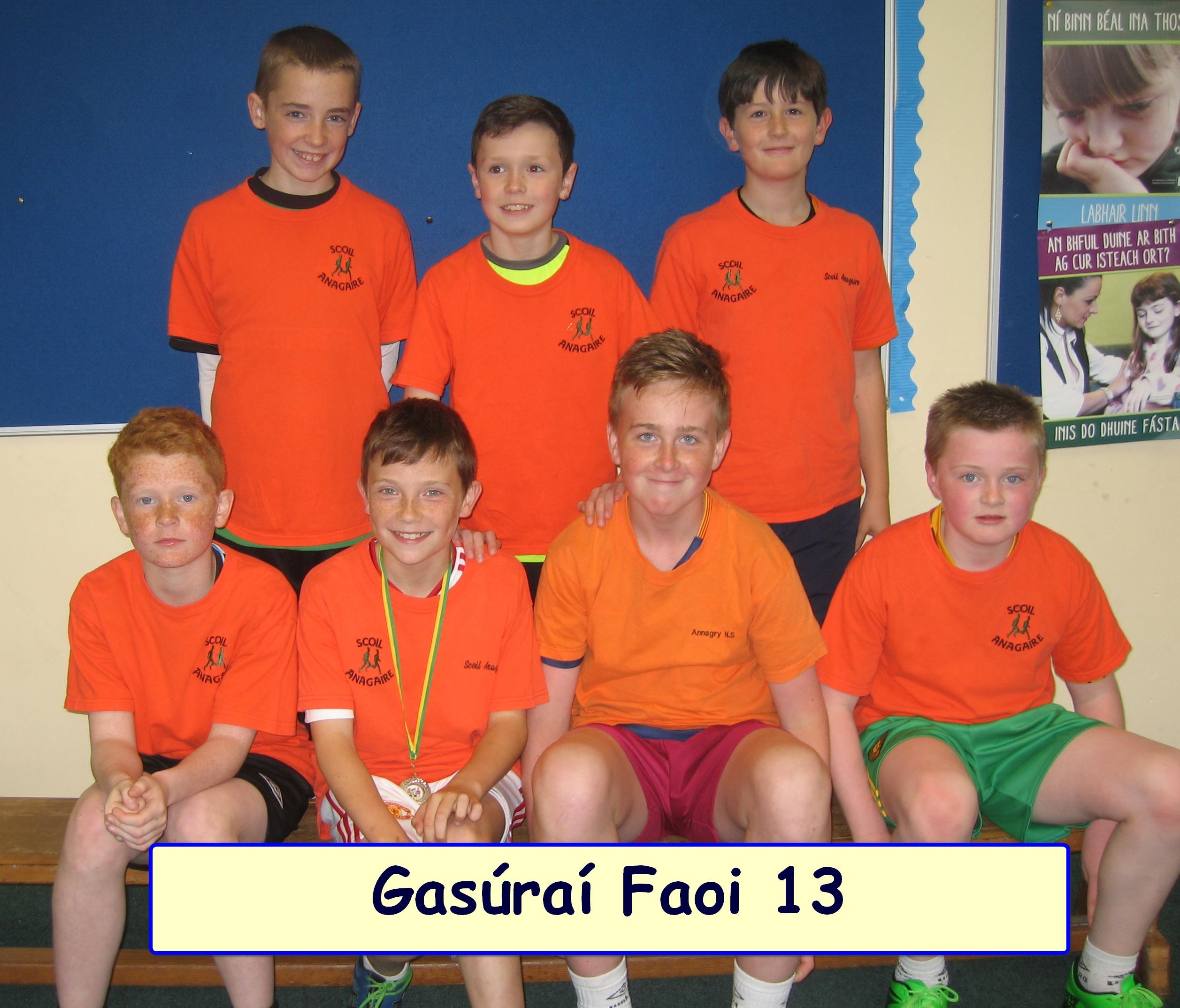 gas Faoi 13