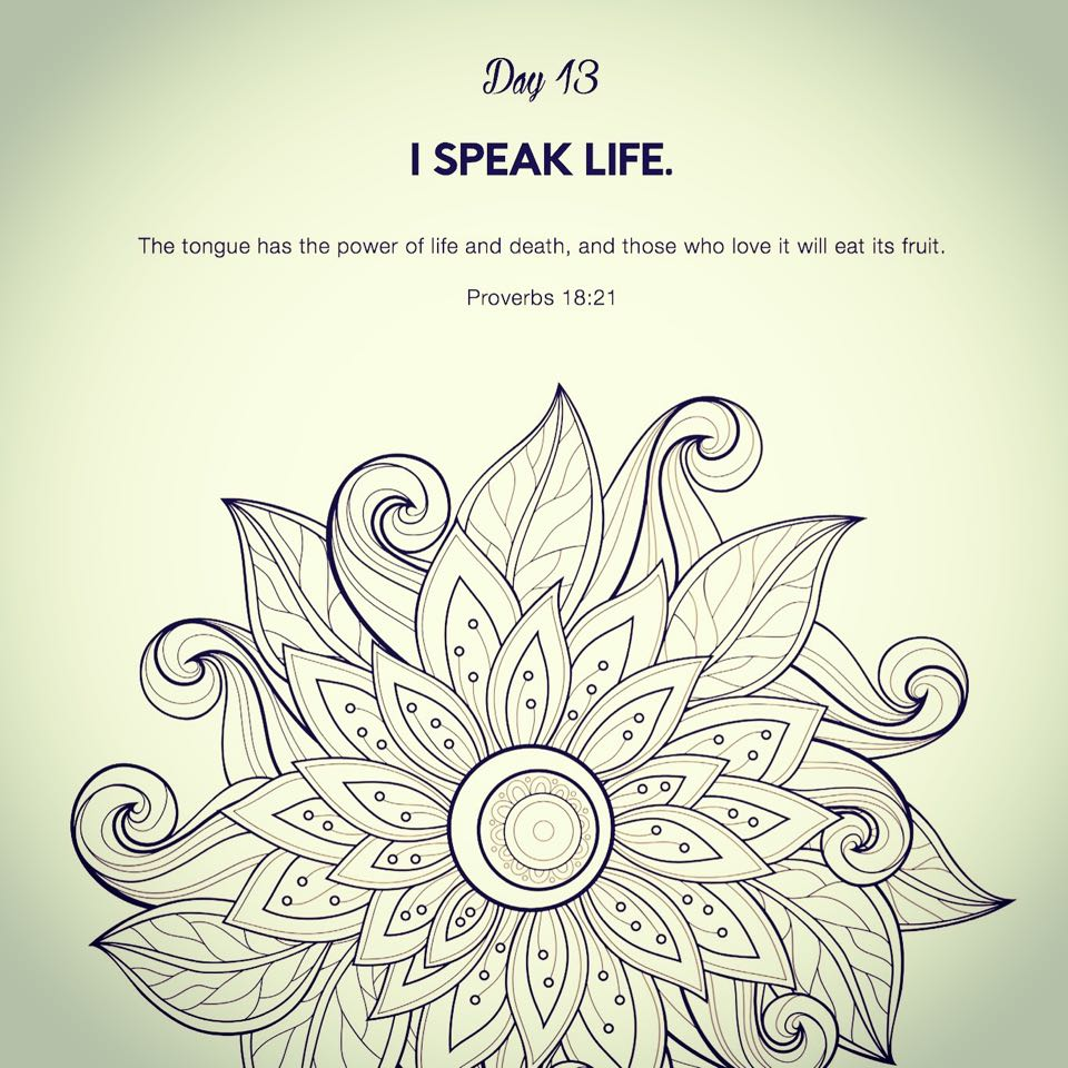 I Speak Life