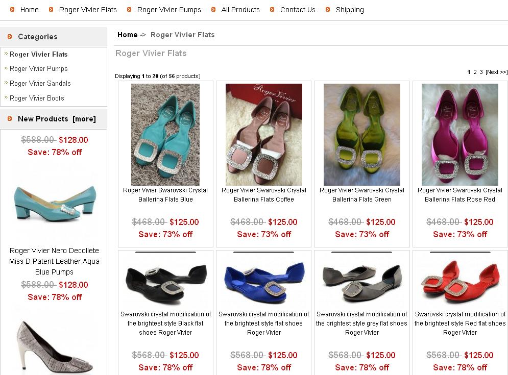 Roger vivier shoes online