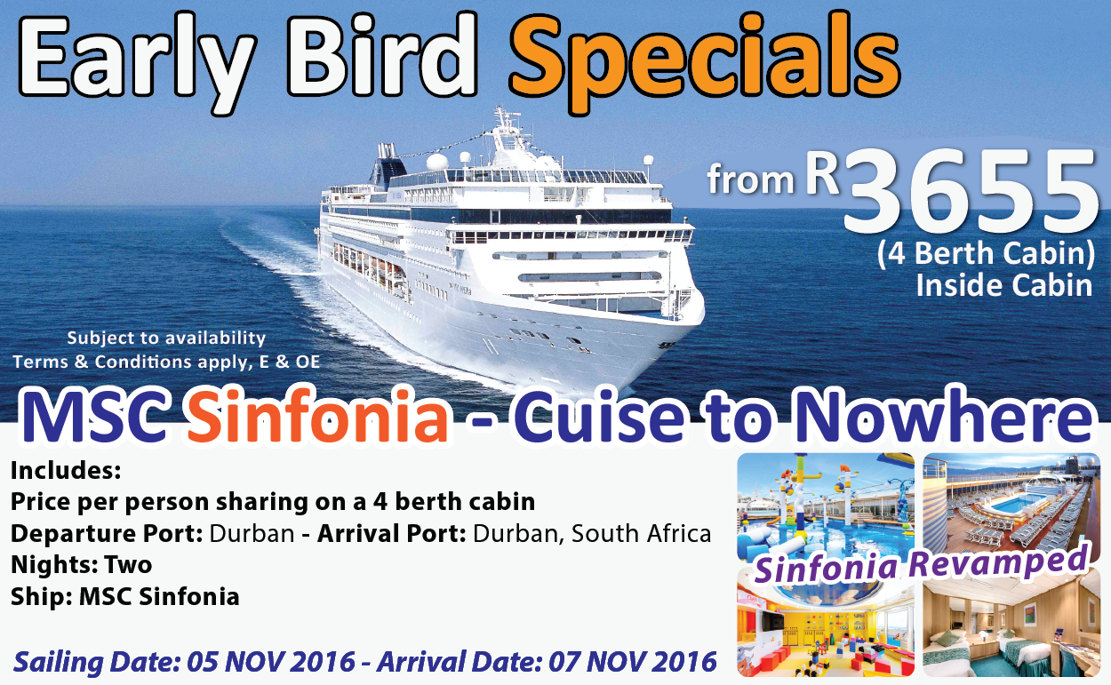 Cruise Deals Packages Cruise Vacations - Cruise ship packages south africa