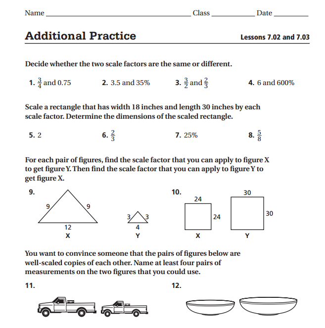 Scale Factor Worksheets carolinabeachsurfreport – Factor Worksheet