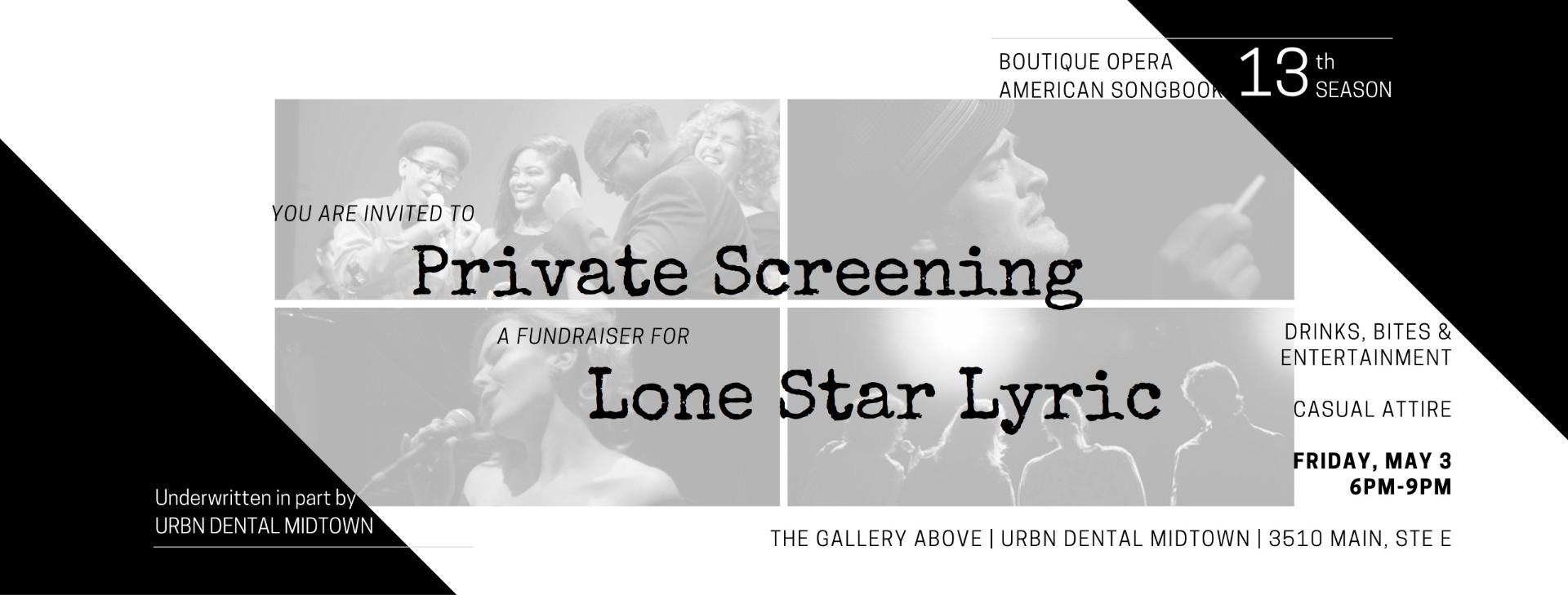 Private Screening - Title Block