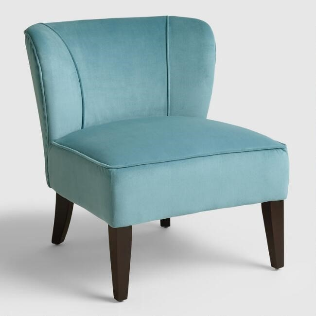 French Blue Chair 27u0027u0027W X 29.5u0027u0027D X 29.5u0027u0027H   Weight 26.5 Lbs. Poly Blend  Upholstery With Birchwood Legs Per Unit $124.99