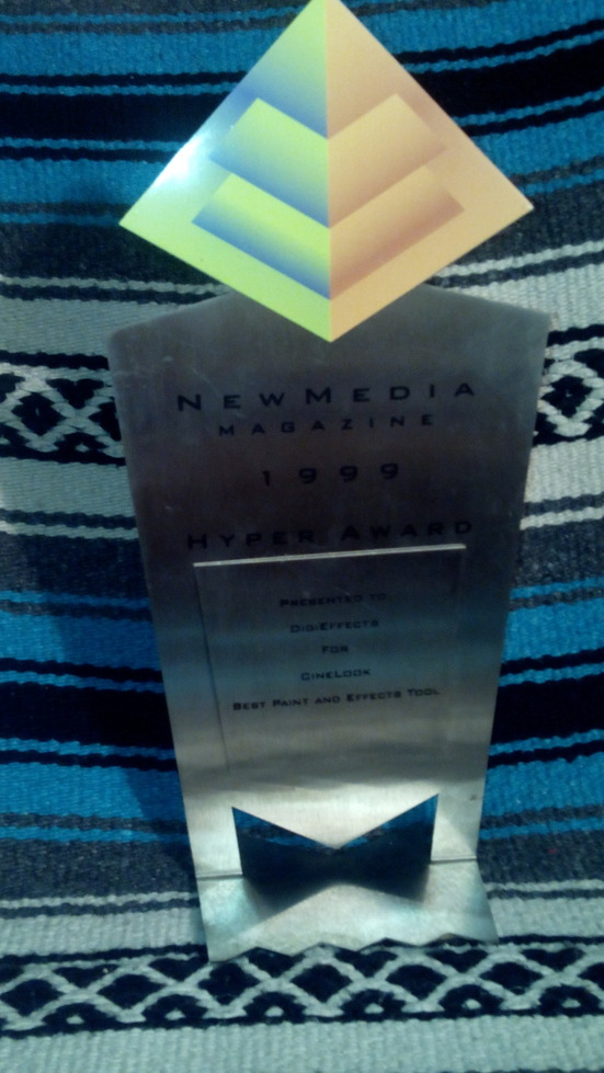 NewMedia Award for CineLook