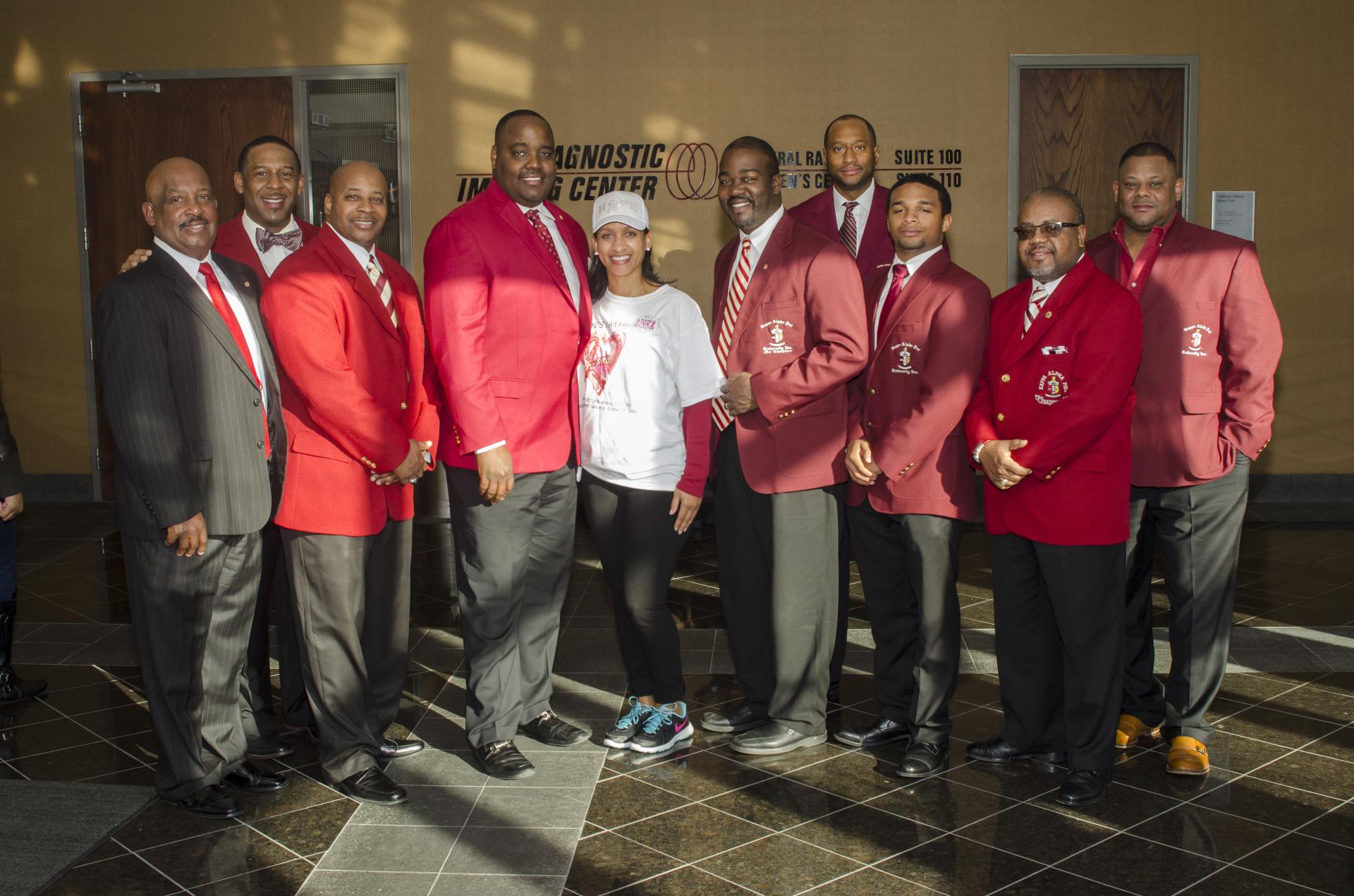 Members of Kappa Alpha Psi KC Alumni Chapter