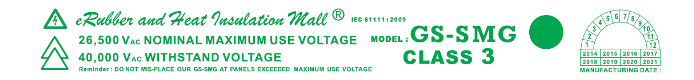 IEC 61111:2009 Class 3 Withstand Voltage Rubber Mat Indonesia