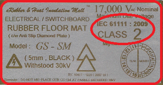 electrical rubber mat indonesia
