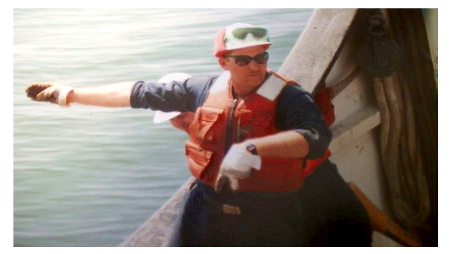 tim watson as buoy deck supervisor cgc cowslip-