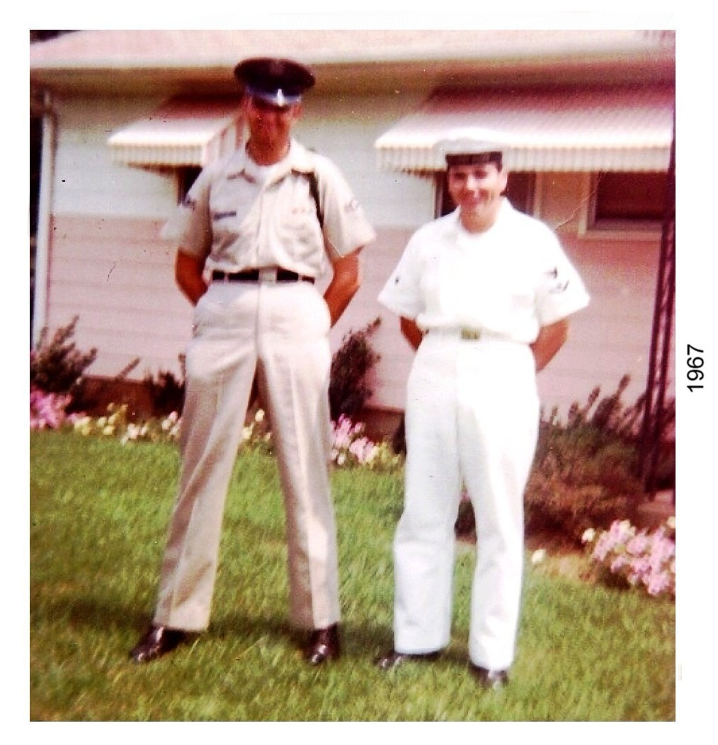 with my brother bill summer 1967-
