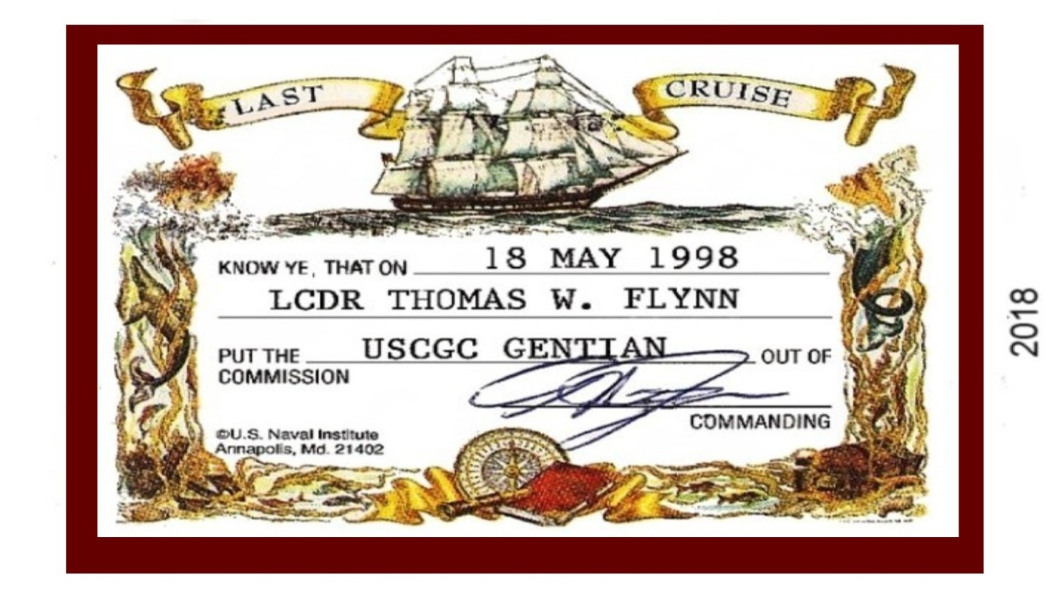 Toms old card USCG 1_22_2018 ---
